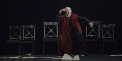 Mario Gas en 'Julio César'.