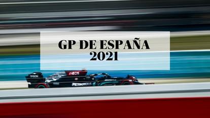 Lewis Hamilton en el circuito de Barcelona durante el Gran Premio de España 2021 de Fórmula 1.