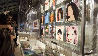 Una imagen de la exposición sobre Warhol en Can Trinxet.