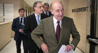 Molins, detrás de Miquel Roca, abogados de la Infanta Cristina.