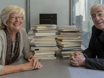 Margrit Lömker y Oriol Serrano, almas de la distribuidora de libros Le Punxes, nacida en 1968.