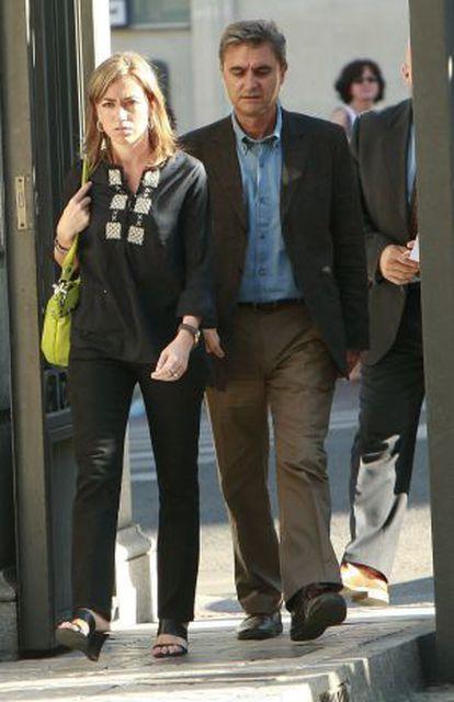 Carmen Chacón y su esposo, Miguel Barroso.
