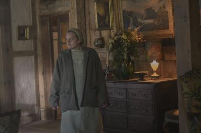 Elisabeth Moss, en un instante de la cuarta temporada de 'El cuento de la criada'.