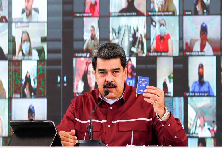 El presidente venezolano Nicolás Maduro, en un acto reciente.
