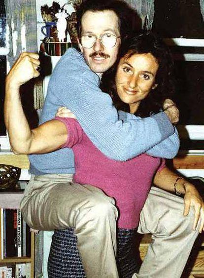 Robert Crumb y su esposa, Aline.