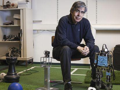 Raúl Rojas, profesor de Matemáticas e Informática de la Universidad Libre de Berlín