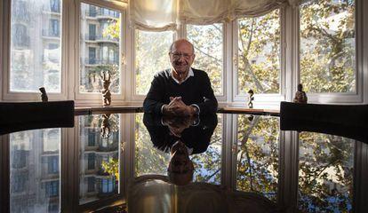 Pere Portabella en su despacho de Barcelona.