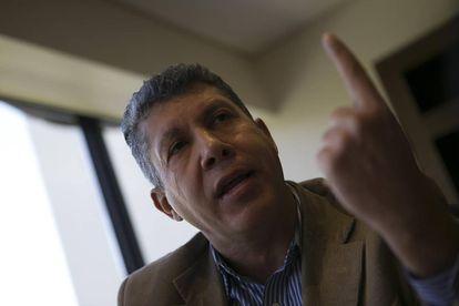 Henri Falcón, gobernador venezolano del Estado de Lara