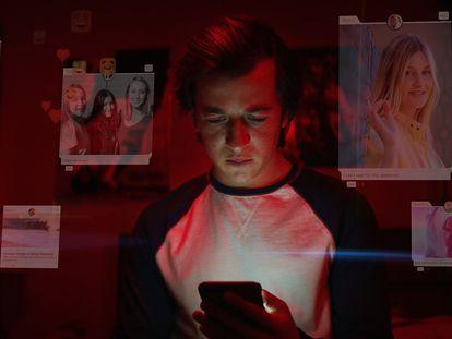 Fotograma cedido por Netflix del documental 'The Social Dilemma'.