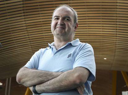 El físico Juan Antonio Aguilar, profesor titular de la Universidad de Granada.