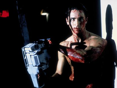 El actor Christian Bale, en la adaptación cinematográfica del libro 'American Psycho', estrenada en 2000.