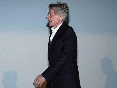 El director Roman Polanski en el estreno de 'Yo acuso' en París, este miércoles.