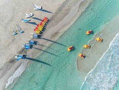 Playa del hotel Meliá Internacional de Varadero.