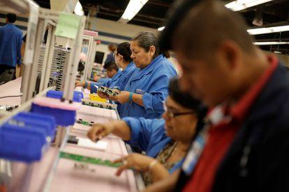Una fábrica de manufactrura en Ciudad Juárez.