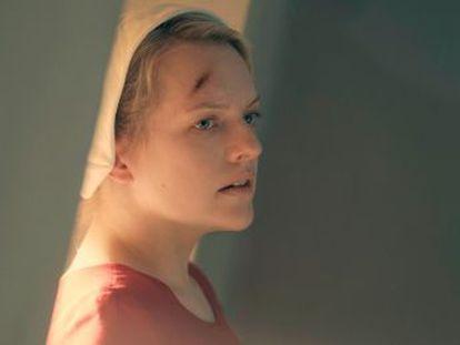 Los ojos de Elisabeth Moss lo son todo en la que ya es una de las series del año