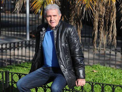 El exjugador argentino Jorge Burruchaga, fotografiado en Buenos Aires en junio de 2016.