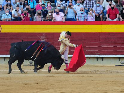 Ponce, en su faena de Castellón.