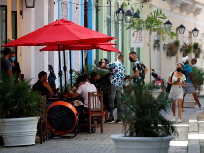 Un restaurante de La Habana, Cuba, el pasado 25 de septiembre.
