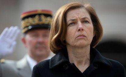 La ministra francesa de Defensa, Florence Parly