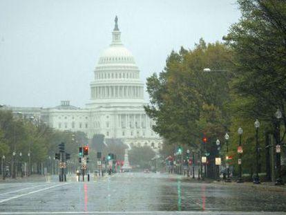 Imagen del Capitolio de Estados Unidos.