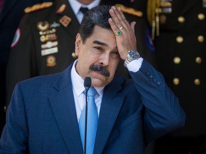 Nicolás Maduro, la semana pasada durante una rueda de prensa en Caracas.
