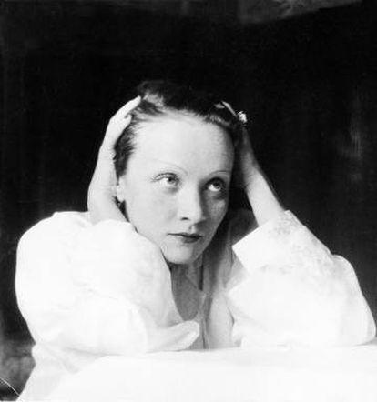 Marlene Dietrich, Salzsburgo, 1930