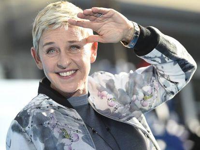 La presentadora Ellen DeGeneres.