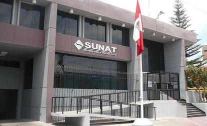 Sede de la Sunat en Lima.