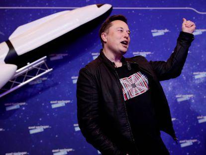 Elon Musk, fundador y consejero delegado de Tesla.