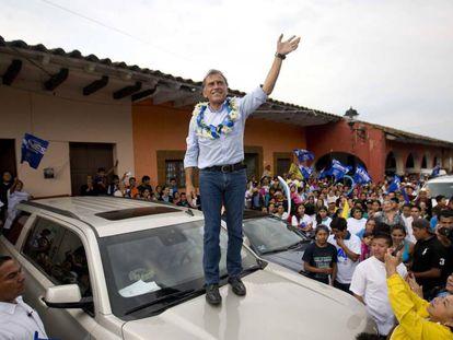 Miguel Angel Yunes, candidato del PAN-PRD al gobierno de VEracruz.