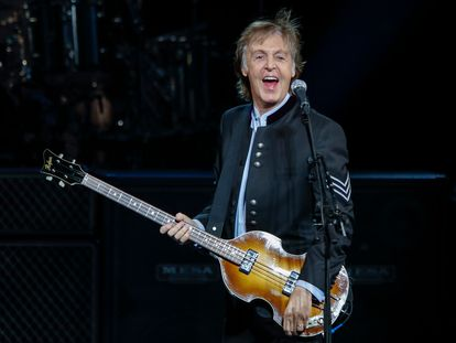 Paul McCartney, una de las estrellas que participa en 'One World: Together at Home', en un concierto de 2017.