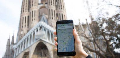 Los teléfonos móviles ofrecen datos sobre geolocalización.