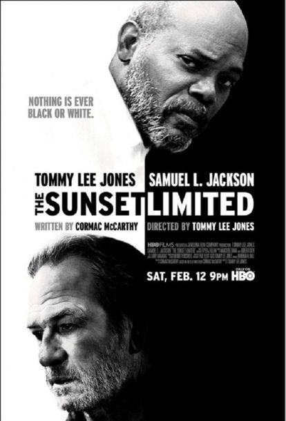 El cartel de la película de Tommy Lee Jones extraída de la novela de McCarthy, que saldrá a la venta el próximo 20 de febrero.
