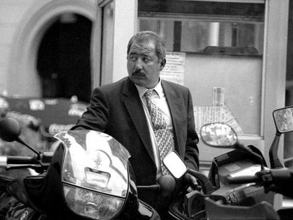 El inspector del CNP Fernández Argüelles en una imagen de archivo de 1998.