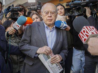 El expresidente catalán Jordi Pujol, en una imagen de archivo.