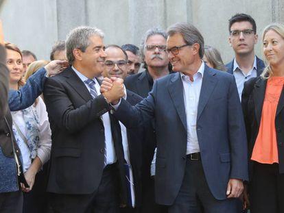 Homs y Mas ante el Supremo.