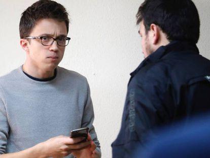 Íñigo Errejón, este sábado, en el Consejo Ciudadano.
