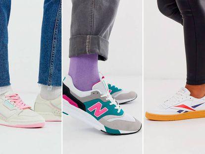 Zapatillas Reebok, New Balance, Adidas, Nike y otras marcas con descuentos.