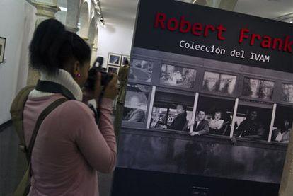 Un aspecto de la exposición de Robert Frank en el Centro Andaluz de la Fotografía, en Almería.