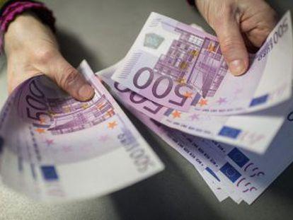 Desde el 27 de enero los organismos supervisores del BCE retendrán los billetes para evitar  la comisión de actividades ilícitas