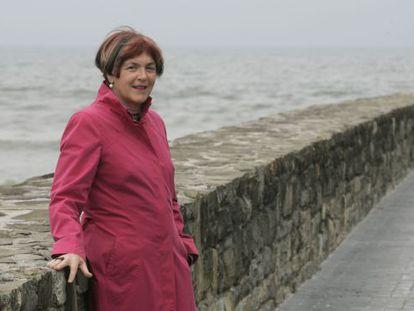 La escritora Mariasun Landa, en una imagen de archivo.