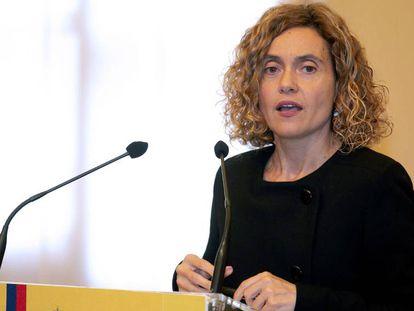 La ministra de Política Territorial y Función Pública, Meritxell Batet.