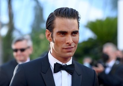 Jon Kortajarena, en la alfombra roja de Cannes.