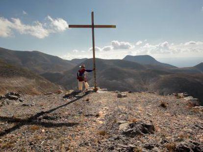 Santos de la Torre, el protagonista de 'Eco de la Montaña'.