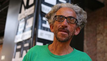 Colombian artist Antonio Caro, in an image from September 2015, in Madrid.