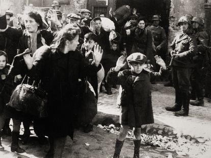 Deportación de judíos del gueto de Varsovia, en 1943