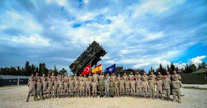 Un contingente español, en Turquía, en 2015.