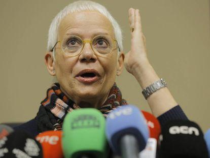 La fiscal en jefe de Barcelona, Ana Magaldi.