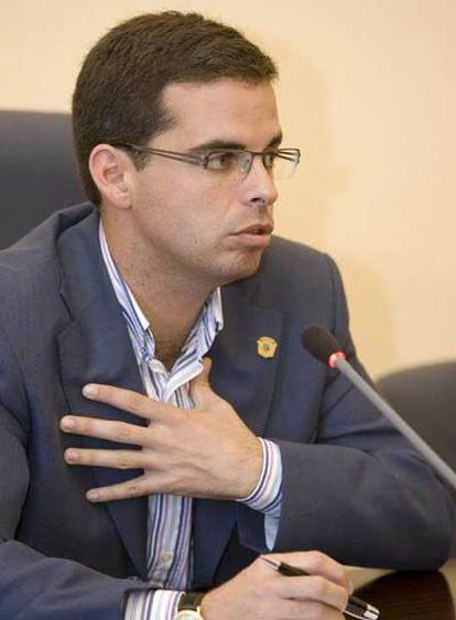 El actual alcalde de Santa Brígida, Lucas Bravo, no imputado.