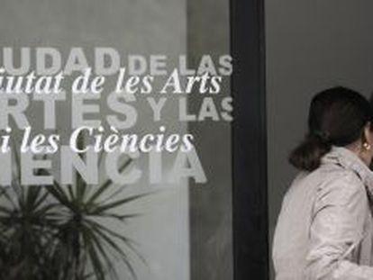 Oficina de la Ciudad de las Artes y las Ciencias de Valencia.